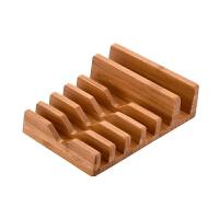 手表手机竹质支架 多功能创意iPad木质充电底座 时尚收纳礼品支架