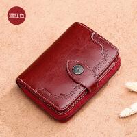 新款女士钱包女短款拉链钱夹韩版女式皮夹大容量零钱包潮