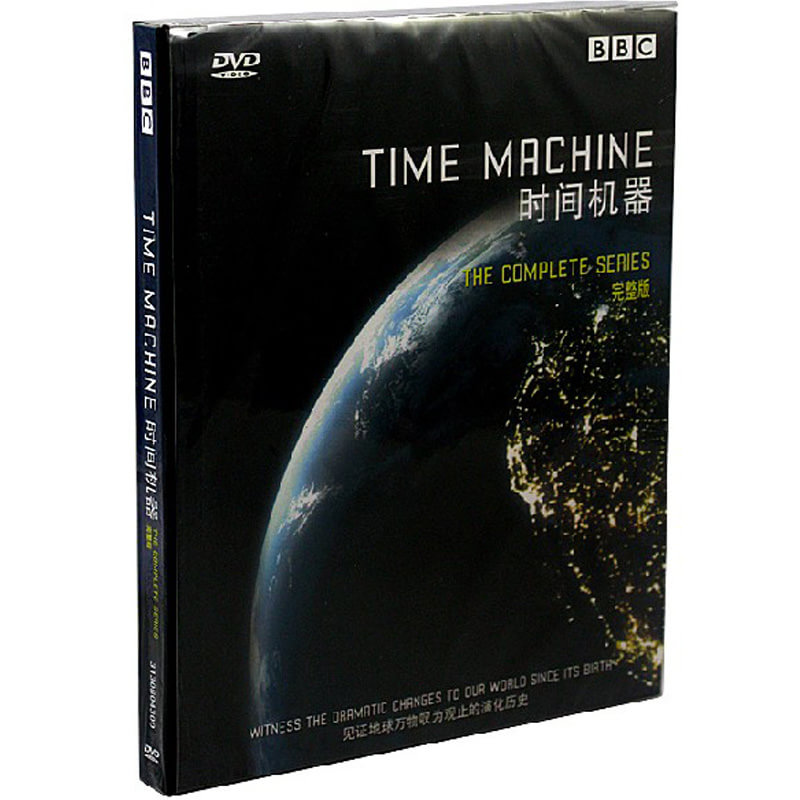 BBC纪录片 高清 时间机器 2DVD 中英双语 原装正版 闪电发货!