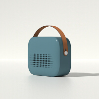 诗杭 暖风机小太阳电暖器家用节能省电办公室用小型迷你电暖风取暖电器 墨羽蓝