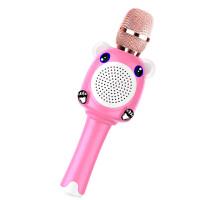 全民k歌神器话筒音响一体手机麦克风无线蓝牙连接家用话筒男孩女孩卡拉OK扩音麦克风儿童节