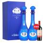 洋河 梦之蓝M6 52度500ml*2瓶 蓝色经典