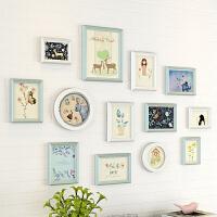 简约现代照片墙装饰画框小清新挂墙组合创意相框墙北欧卧室相片墙