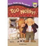 TOO NOISY 汪培�E第一阶段 Penguin Group pic 儿童英文读本分级读物 英文原版