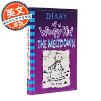 小屁孩日记13 英文原版 美版精装 Diary of a Wimpy Kid13 The Meltdown 进口童书