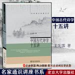 中国古代诗学十五讲