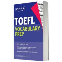 华研原版 卡普兰托福词汇 英文原版英语考试书 Kaplan TOEFL Vocabulary Prep 全英文版进口书