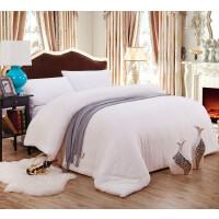 新疆长绒棉被芯 9斤冬季棉被 厚棉花被 高密度纱网9斤