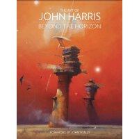 英文原版 约翰・哈里斯的科幻插画艺术 The Art of John Harris: Beyond the Horizo