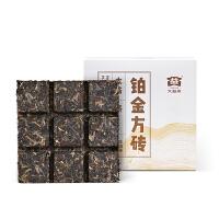 大益普洱茶 生茶 �K金方�u 便�y�_泡茶�~60克(1�u)