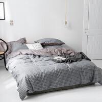 全棉四件套纯棉床单被套床品套件学生单人床宿舍床上三件套