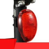 自行车灯尾灯W04安全警示灯 智能爆闪山地单车配件骑行装备