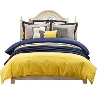 儿童床品四件套纯棉全棉男孩北欧风床笠款床单样板间床上用品套件