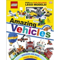 【预订】LEGO Amazing Vehicles : Includes Four Exclusive LEGO Mi
