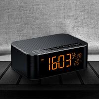 【新品上市】 SANAG 无线复古蓝牙音箱 插卡收音机车载便携式低音炮电脑小音箱 黑色