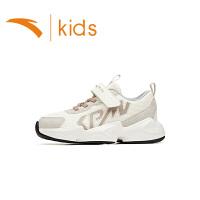 【到手价149】安踏儿童男女童运动鞋2021春季款小童休闲鞋老爹鞋官网332119910