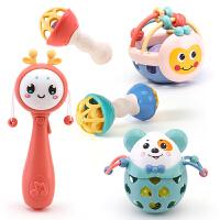 婴儿手摇铃玩具牙胶益智宝宝幼儿
