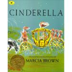 Cinderella 灰姑娘 Marcia Brown(玛西亚・布朗) 9780689814747 Simon & S