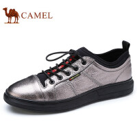 camel 骆驼男鞋 秋季新品滑板鞋系带户外运动休闲鞋时尚潮鞋