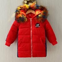 男童冬装棉衣棉袄中长款儿童宝宝冬季童装