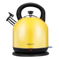 电热烧水壶 家用器开水自动断电304不锈钢