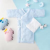 全棉时代 蓝色系长款婴儿服x1盒+蓝色系短款婴儿服x1盒