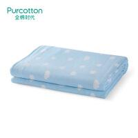 全棉时代 春夏儿童纱布空调被135x120cm1件/袋