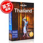 现货 孤独星球 泰国旅行指南 17版 2018年出版 英文原版 Lonely Planet Thailand 17 旅