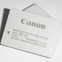Canon佳能NB-10L原装相机电池 适用于SX40 G15 G1X SX50 G16 SX60 NB10L G3X