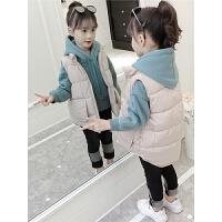 女童三件套秋冬装儿童卫衣套装