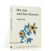 英文原版 Sun and Her Flowers 太阳和她的花儿露比考尔 Rupi Kaur 自传体诗集诗歌 牛奶与蜂