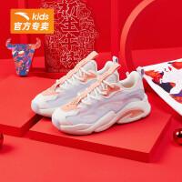 【到手价199】安踏儿童女童运动鞋2021春新款休闲鞋中大童霸道系列322118878