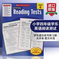 小学四年级学乐英语阅读测试 英文原版书 正版美国进口英语小学教材 Scholastic Success With Re