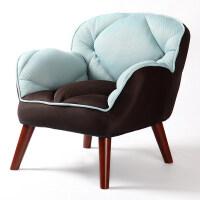 御目 沙发 懒人沙发榻榻米单人布艺沙发凳子小户型免安装休闲沙发椅子家具用品