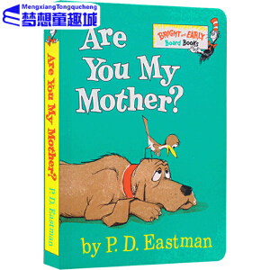 Are You My Mother? 你是我妈妈吗 纸板书 Go,dog.go同系列 dr seuss 苏斯博士英文原版绘本