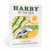 进口英文原版绘本 Harry by the Sea 哈利海边历险 吴敏兰推荐书单图画书 儿童英语启蒙阅读故事书 3-6