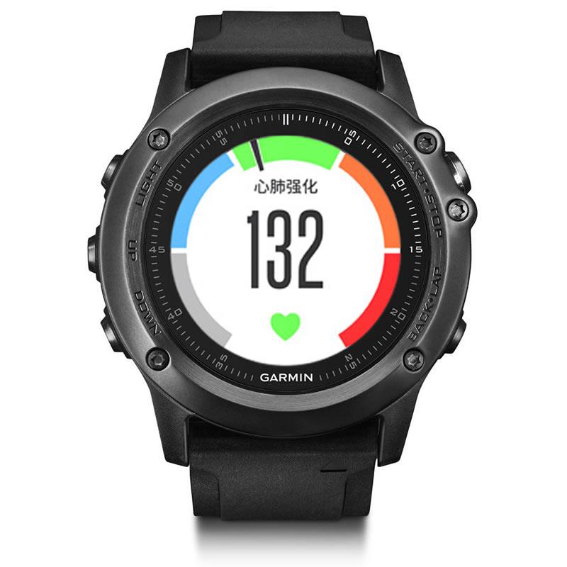 佳明Garmin-fenix 3 系列 fenix 3 HR 中文玻璃版 多功能GPS户外手表下单后3-7个工作日发货