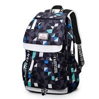 女士双肩背包书包男时尚潮流个性韩版旅行中学生青年休闲校园男士背包双肩包