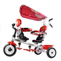 双胞胎儿童三轮车双人二胎双座脚踏车宝宝童车婴儿幼儿手推车