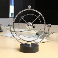电动创意牛顿摆球撞球碰碰球客厅办公室桌面减压摆件玩具