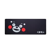 【正版授权】酷MA萌 熊本熊游戏鼠标垫超大号电脑桌垫 精密包边 底部防滑 办公游戏皆宜 熊脸桌面鼠标垫