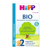 德国Hipp Bio喜宝有机奶粉2段 2047(6-10个月宝宝)800g盒装