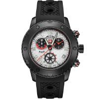 瑞士军表SWISS MILITARY-MOTOR SPORTS 赛车运动系列 RALLYE GMT NERO 黑色拉力