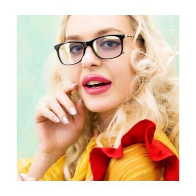 时尚防辐射眼镜近视眼镜框女士抗手机蓝光电脑护目镜眼镜架大       支持礼品卡 品质保证 售后无忧 支持货到付款
