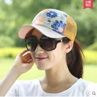 太阳帽鸭舌帽 帽子女 韩版嘻哈户外休闲棒球帽夏季遮阳帽凉帽