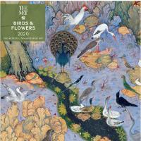 英文原版 大都会艺术博物馆 2020年挂历:花鸟画 新年日历 进口礼品书 Birds and Flowers 2020
