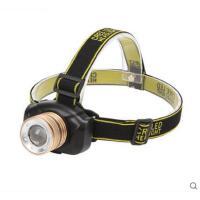夜间照明灯高亮头灯强光远射200米骑行夜钓户外变焦LED充电式头灯