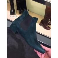 prada绿色女靴子