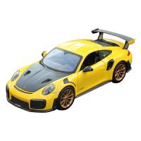 新款保时捷911GT2RS仿真合金汽车模型跑车金属玩具摆件