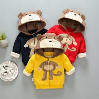 宝宝棉袄女婴儿1-3岁新生儿冬季衣服幼儿棉衣